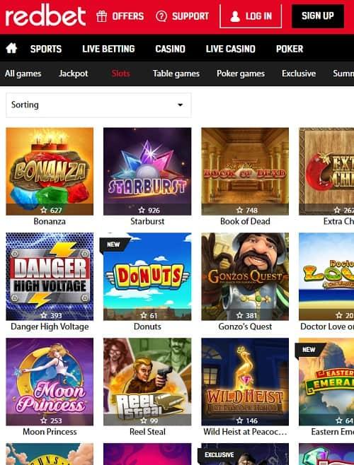 Redbet Casino Review