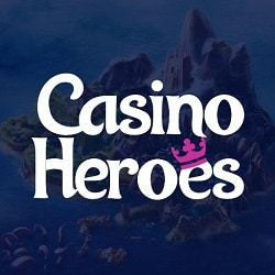 Casino Heroes €5 no deposit bonus or 800 free spins for new players