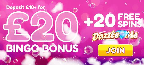 20 free spins uk slots
