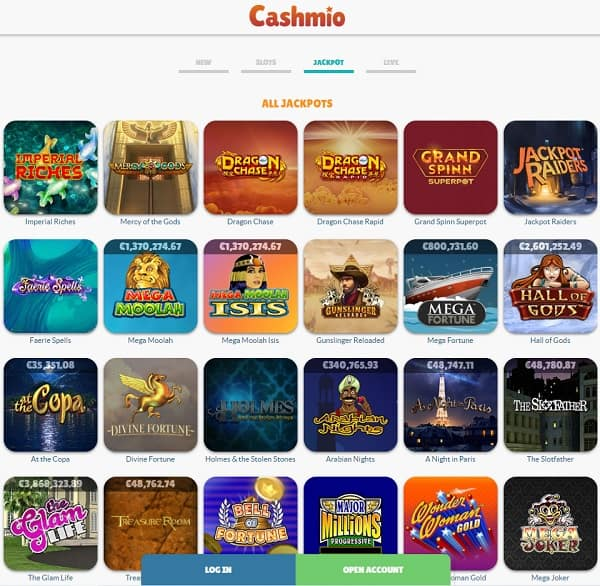 Cashmio.com Casino Review