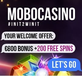 Mobo Casino | 200 free spins & 275% bonus up to €600 | review