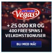 Norge Vegas Casino free spins