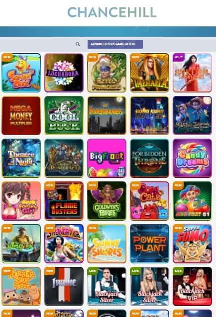 ChanceHill.com Online Casino Review