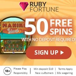 Mahiki Island free spins bonus