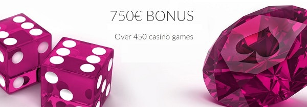 300% up to $750 welcome bonus
