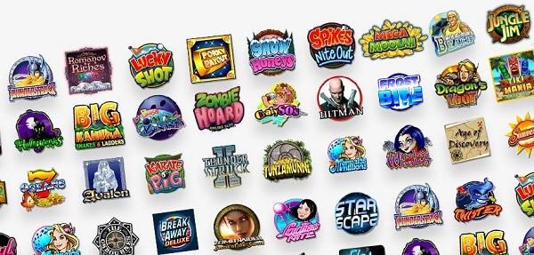 RubyFortune.com Games, Live Dealer, Jackpots