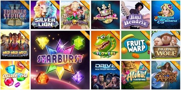 Spinland Casino Games and Software