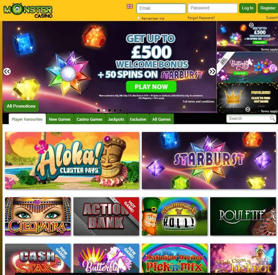 Monster Casino Online