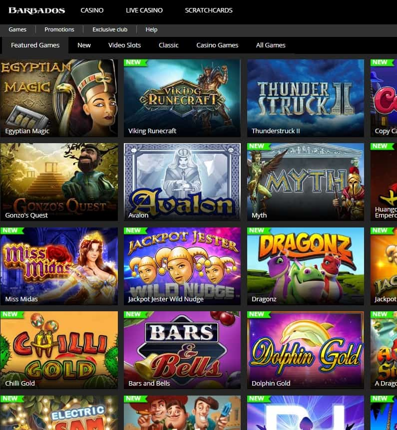 Barbados Casino Online & Mobile - Overview