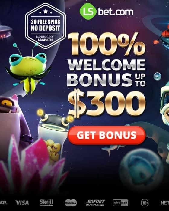 LSBet Casino Free Spins Bonus