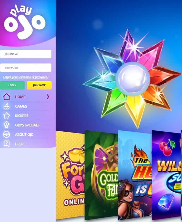 PlayOJO Casino Review