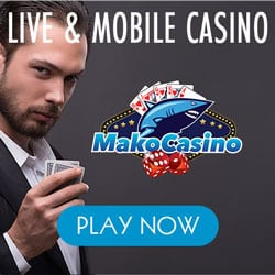 Mako Casino €1,000 free bonus on Slots, Jackpots & Live Dealer