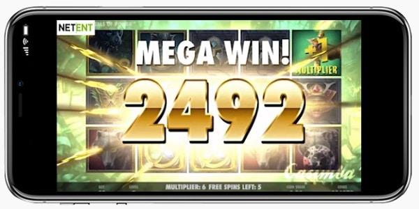 Casimba Mobile Casino big win