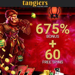 Tangiers Casino | 60 free spins and 675% exclusive bonus - Bitcoins OK