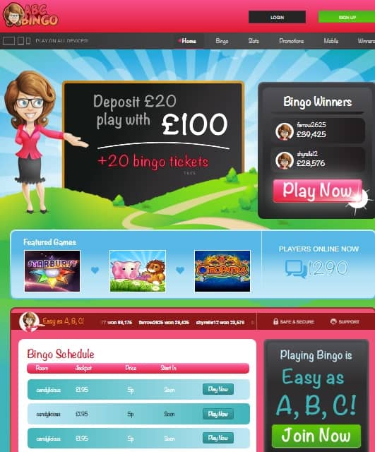Abc Bingo Casino Online & Mobile