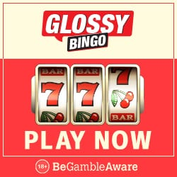 Glossy Bingo Casino 150 free spins on slot games! Exclusive Bonus!