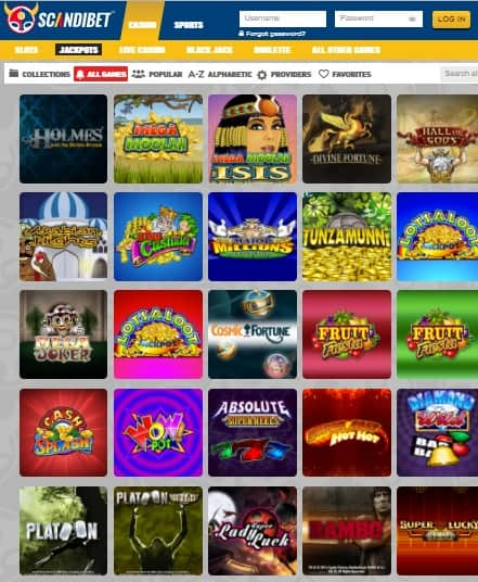 Scandibet Casino Online & Mobile
