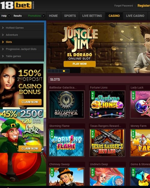 18Bet Casino Review