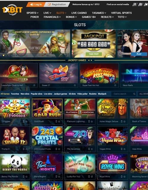 1XBit free bitcoin casino
