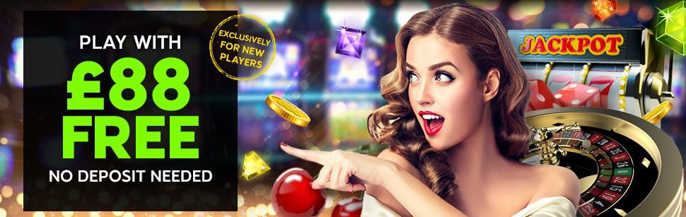 888Casino 88 British Pounds no deposit required