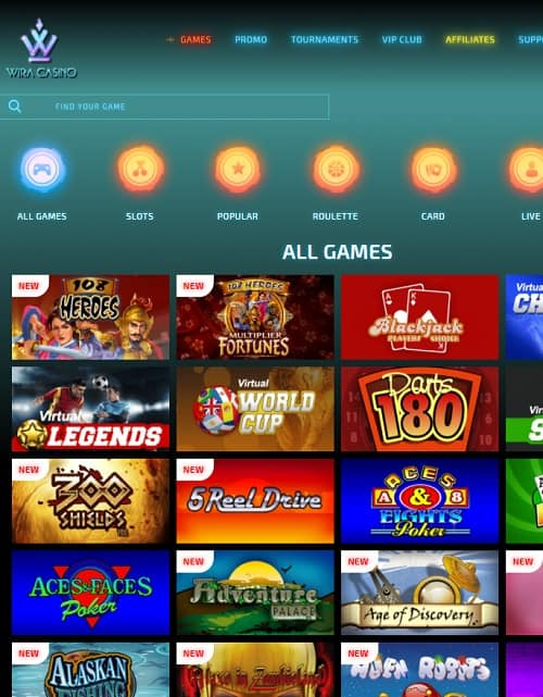 Wira Casino review
