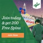 Mr Green Casino 200 free spins and 100% bonus to play jackpots!