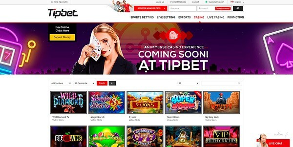 Best online slots, live dealer and sportsbook under one roof!