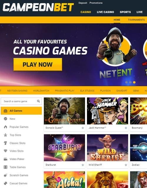 CampeOn Bet Casino