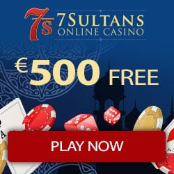 50 exclusive free spins + 100% up to €500 bonus offer