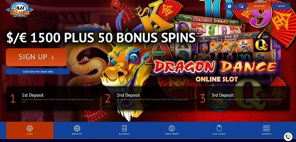 50 free rounds on Mega Moolah slot