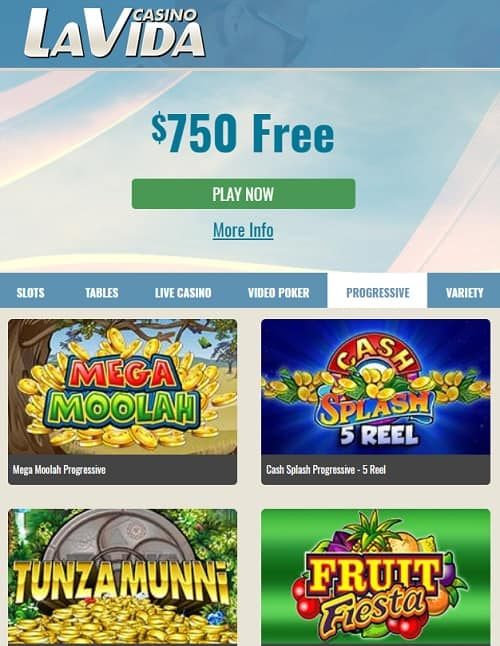 LaVida Casino Online Review