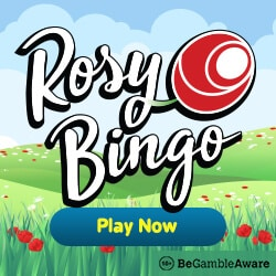 Rosy Bingo Casino 300% bonus and 67 free spins for new players