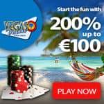 Vegas Palms Casino 100 free spins & 200% bonus - Exclusive Offer