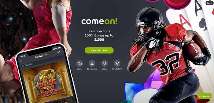 ComeOn Canada Bonus