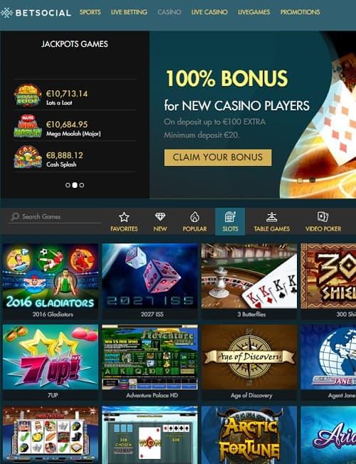 Bet Social Casino Review