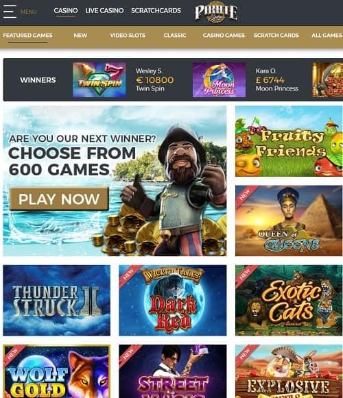 Pirate Spin Online Casino free bonus
