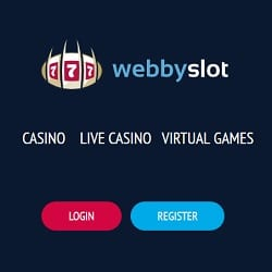 Webby Slot Casino 100 free spins + 100% up to €200 bonus cash