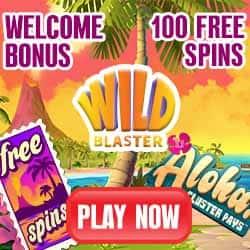 Wildblaster Casino 20 free spins no deposit required - Exclusive Bonus!