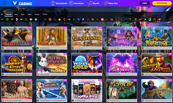 IVI Casino free spins bonus codes