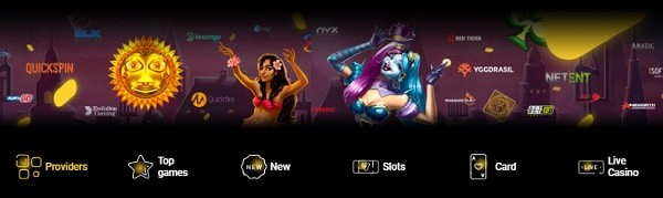 Zet Casino games and software