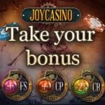 Joy Casino [register & login] 200 free spins + $1000 free bonus