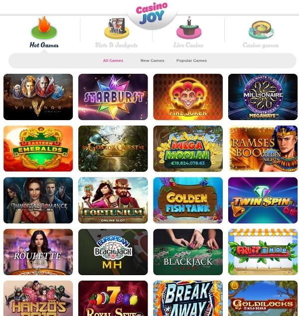 Casino Joy Online & Mobile