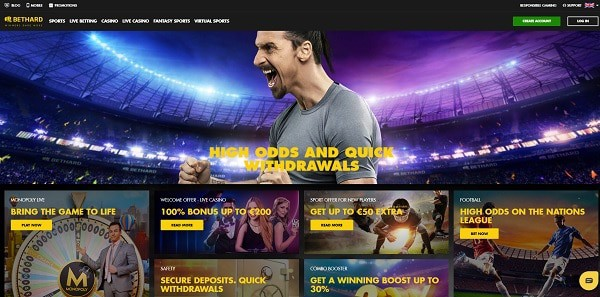 Bethard Casino review and ratings