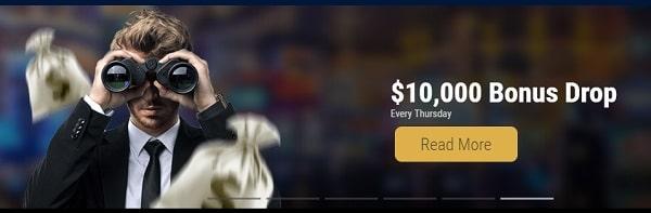 $10,000 Cash Drop