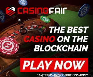 CasinoFair (Blockchain Casino) - Provably Fair & Instant Payouts