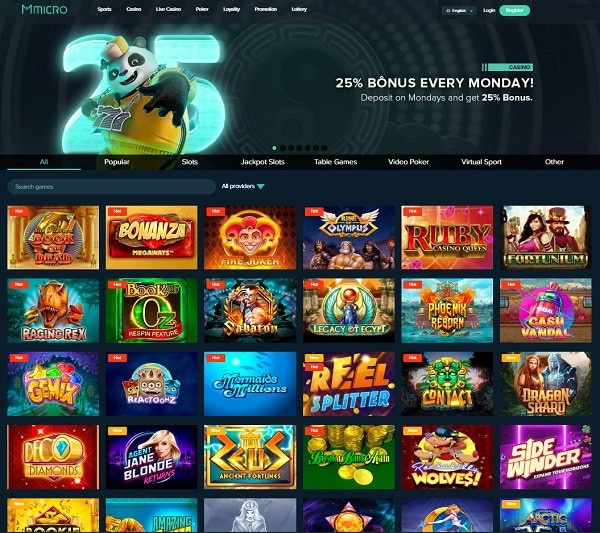 Micbet MMicro Casino Review