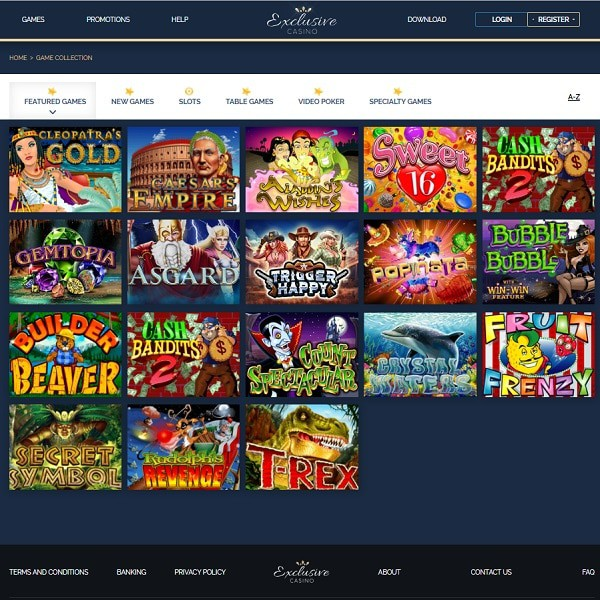 Exclusive Casino Review