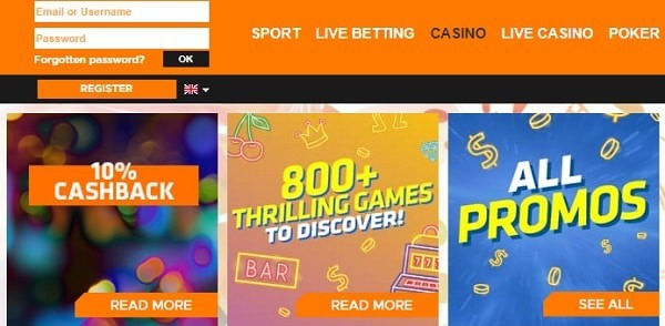 Expekt Casino Games, Bonuses, Promotions
