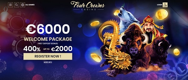 €6000 welcome bonus