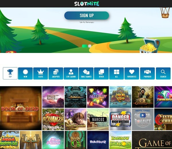 Slotnite.com Review
